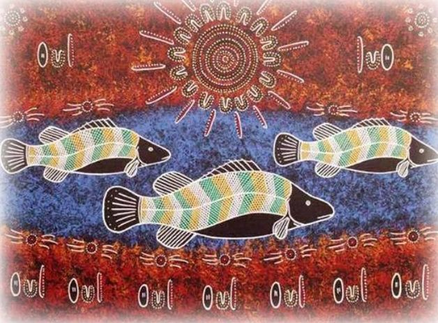 Boomanulla William's fantastic indigenous artwork