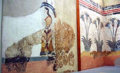 1000 images about minoan ancient greece etruscan on for Dolphin mural knossos