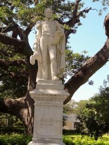 Simon Bolivar Statue, Santa Marta