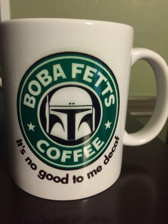 Star Wars Coffee Mugs perfect for gifts and for your self, it comes in different variations - Boba Fett (NEW) - Vader - Storm Trooper - R2D2 - Leia -