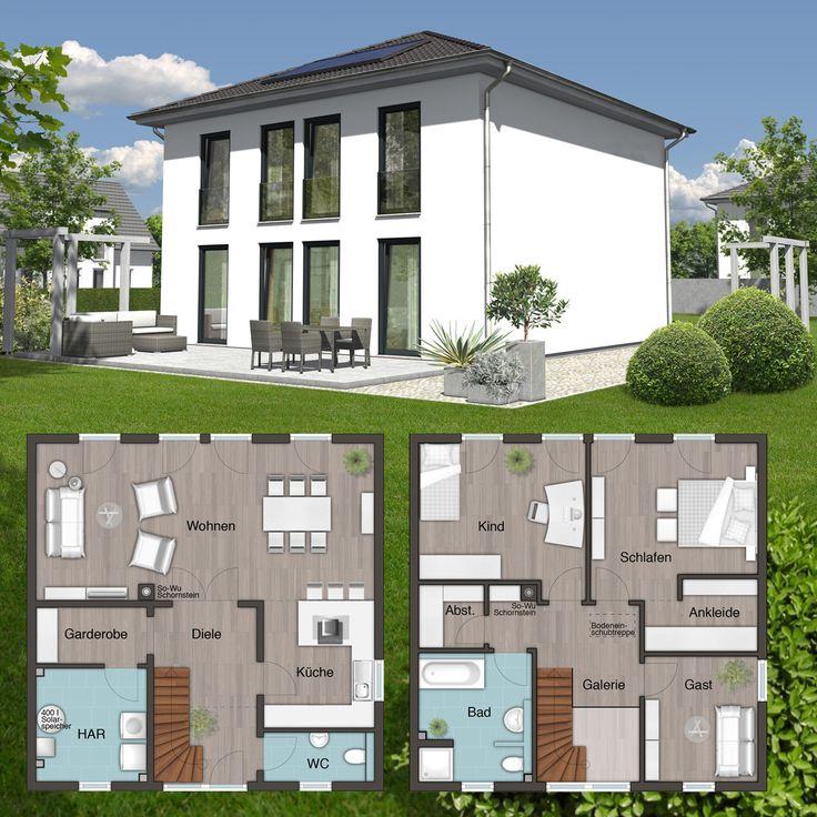 58 best massivh user stadtvillen images on pinterest for Stadtvilla plan