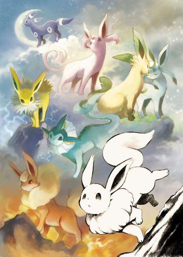 Best 25 pokemon eevee evolutions ideas on pinterest - Pokemon perle evolution ...