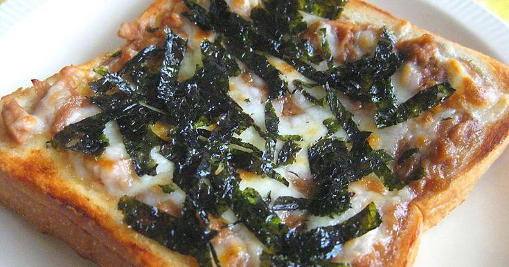 時間がない朝食にも、ツナ缶を使ってお手軽にヾ(♥ó㉨ò)ノ♪テリヤキチキンピザ好きな人必見?♡