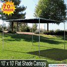 10' x 10' Flat Shade Canopy