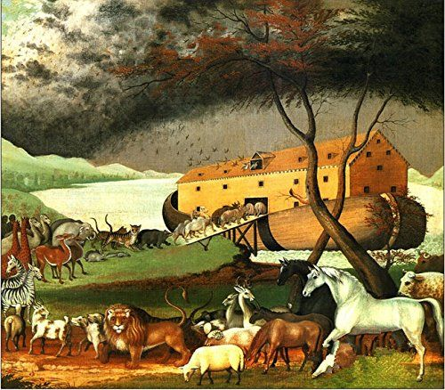 Coeus Wooden Puzzles-a Series of Animals- Getting on Noah's Ark ,Educational Games for Kids / Puzzles for Adults,500 Pieces Jigsaw Puzzle