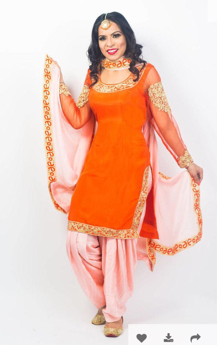 A personal favorite from my Etsy shop https://www.etsy.com/ca/listing/526908830/orange-zardozi-work-punjabi-suit