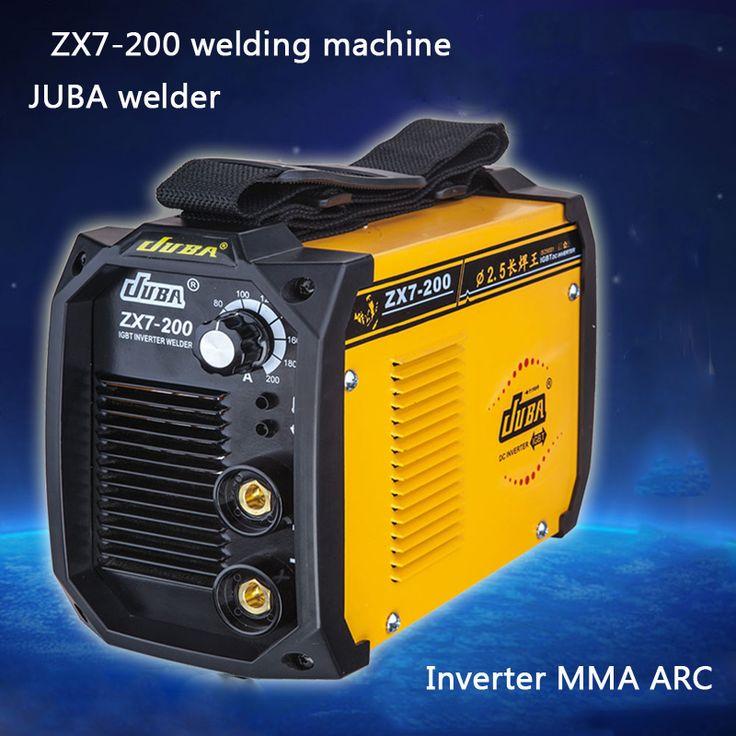 Hot Selling Household mini all- copper welder Portable Welding Inverter ARC  Electric welding machine ZX7-200 #Affiliate