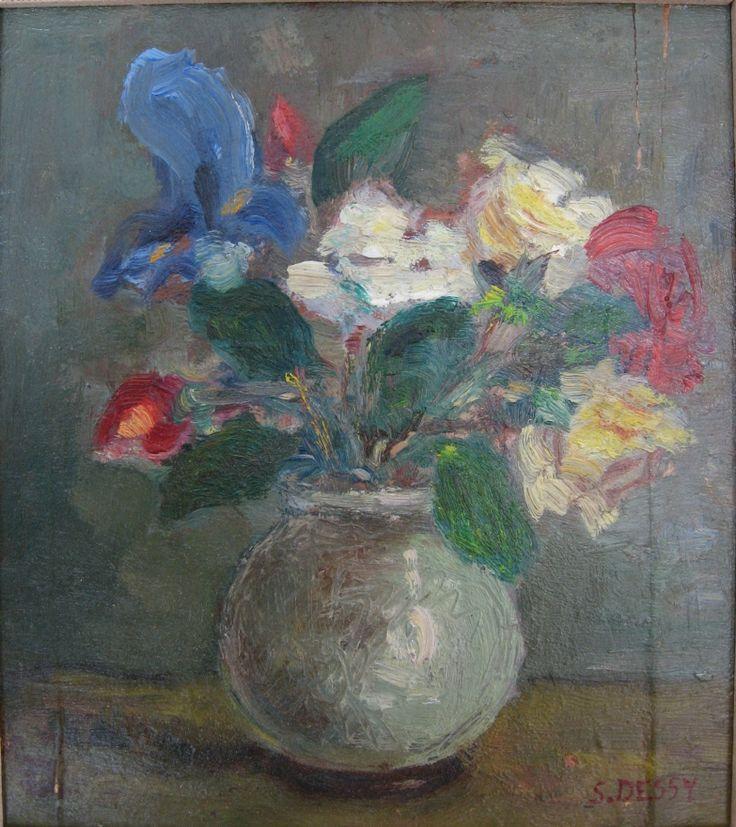Stanis Dessy, 1940, olio su tavola, Sardegna.