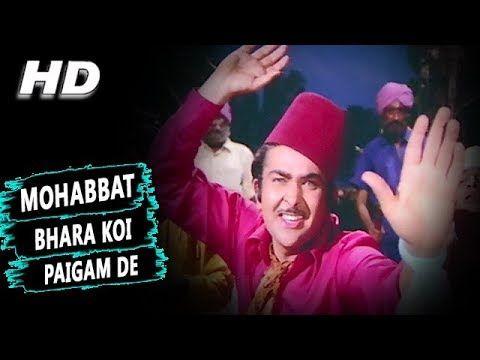Mohabbat Bhara Koi Paigam De   Manna Dey Mahendra Kapoor   Hamrahi 1974 Songs   Randhir Kapoor