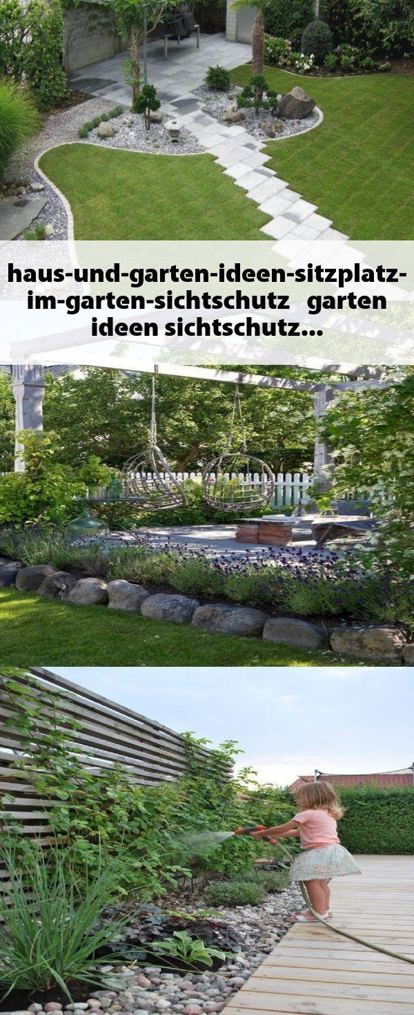 Haus Und Garten Ideen Sitzplatz Im Garten Sichtschutz Garten
