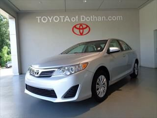 2014 Toyota Camry 4dr Sdn I4 Auto L - Toyota dealer in Dothan AL – New and Used Toyota dealership serving Ft Rucker Enterprise Ozark Troy AL