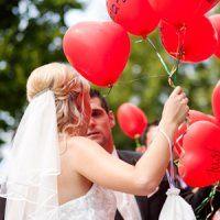 luftballons hochzeit steigen lassen
