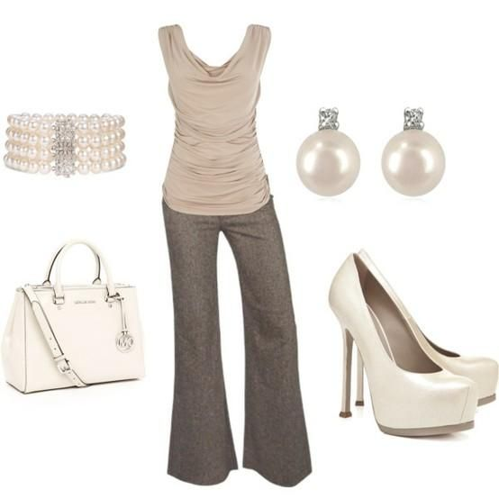 : Office, Pearl, Fashion, Style, Color, Clothes, Work Outfits, Closet, Business Casual