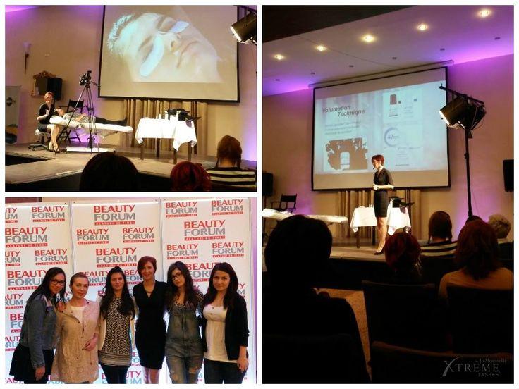 Vă mulţumim că aţi fost alături de noi la prezentarea Xtreme Lashes din cadrul Beauty Forum Cluj şi pentru interesul acordat acestui domeniu! A fost o plăcere să întâlnim atât de mulţi profesionişti! De asemenea, mulţumim stiliştilor noştri Xtreme Lashes că au luat parte la acest eveniment şi ne-au susţinut! www.xtremelashes.ro