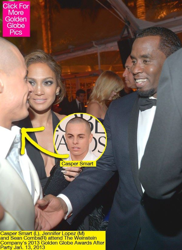 Jennifer Lopez Runs Into Ex P. Diddy With Casper Smart —Awkward