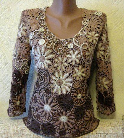 Купить или заказать блуза цвета капучино в интернет-магазине на Ярмарке…