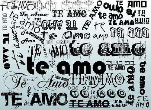 es toda ls distintas formas de letra de escribirte (te amo romi) : te amo romina sos lo mejor q tengo en mi vida y lo q paso!!! | rr_locura