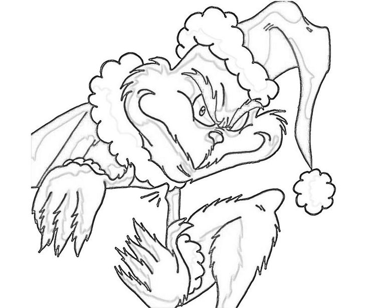 THE GRINCH CHRISTMAS THE GRINCH Pinterest Coloring