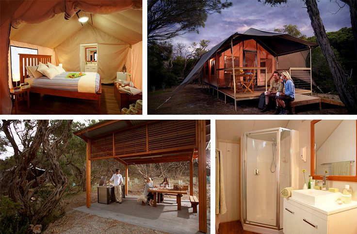 Leave the mozzies, dodgy communal shower blocks and lumpy sleeping bags behind people, because we're going glamping!