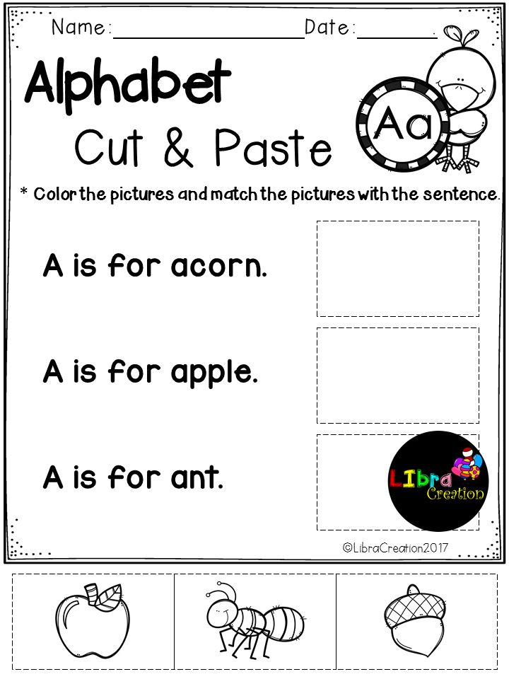 This Product is fun for early learner. Simple and easy to do. Free, Freebies, Free Alphabet, Alphabet Product, Alphabet Activities, Alphabet Fun Activities, Alphabet, Alphabet Cut & Paste, Pre-K, Kindergarten, 1st Grade