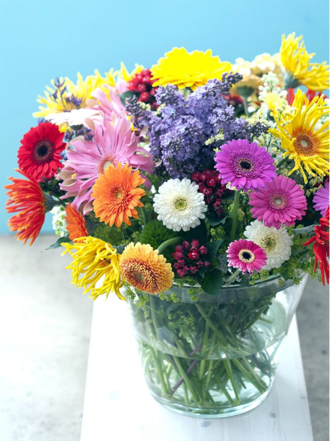 Bouquet recipe Gerbera