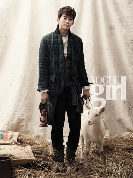 Taecyeon on 'Marriage Blue' for 'Vogue Girl'