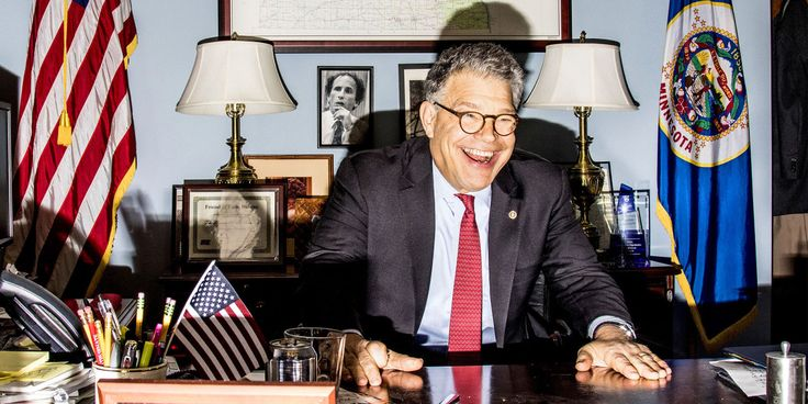 Al Franken, Absurdity Expert, Is a Man for Our Political Times
