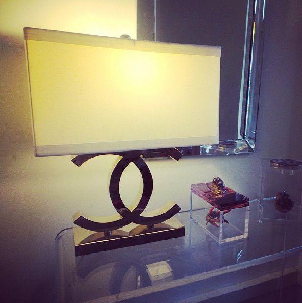 Chanel Lamp Need Beauty Closet Guest Room Pinterest