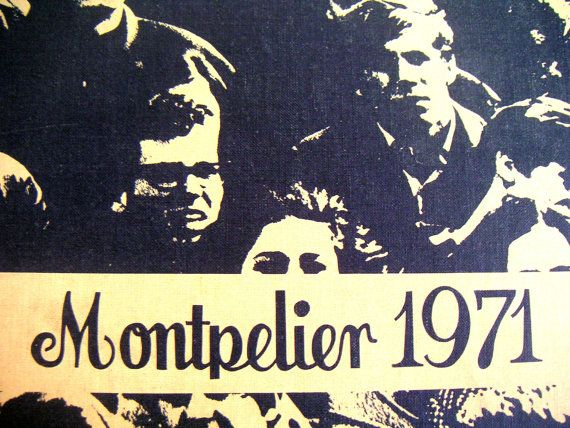 Vintage Yearbook James Madison High School Montpelier by QVintage, $45.00