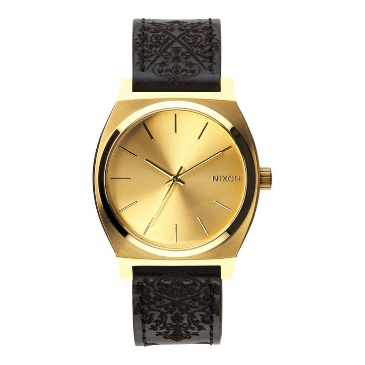 Reloj Nixon Time Teller Gold Ornate