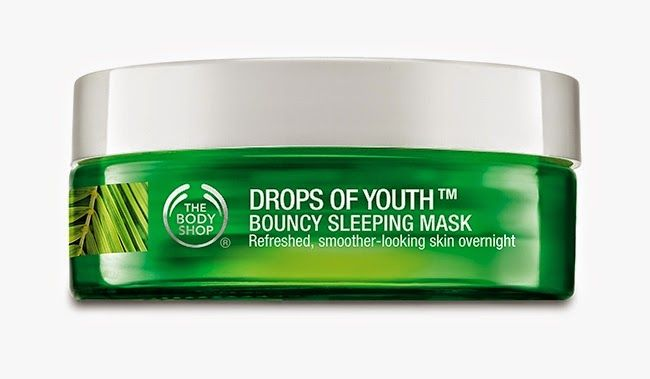 Caroline Hirons: The Body Shop Drops of Youth Bouncy Sleeping Mask