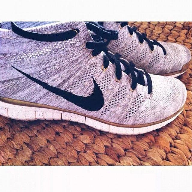 #nike #flyknit #chukka #gold #sneakers #sneakersporn #love