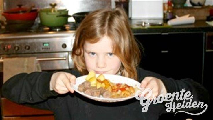 Witte kool met paprika #groentehelden #recept #gezond #wittekool #paprika #koken