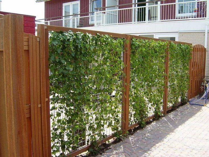 PAM - Hardhouten gaaspanelen verzinkt betonijzer 180x180 cm - outdoor küche mauern