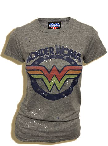 I like the retro look of this Wonder Woman shirt.