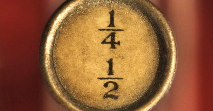 Como ler frações. As frações são usadas na matemática para representar diferentes tipos de dados. A fração 3/4 representa uma relação (três em cada quatro pedaços de pizza tinham pepperoni), uma medida (três quartos de cm) e um problema de divisão (três dividido por quatro). Em matemática elementar, alguns alunos têm dificuldade para entender a complexidade de ...