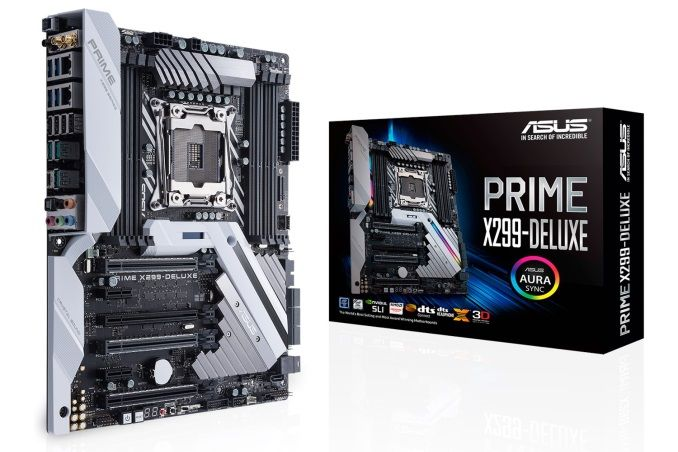 The Asus Prime X299 Deluxe Motherboard Review Onboard Oled And