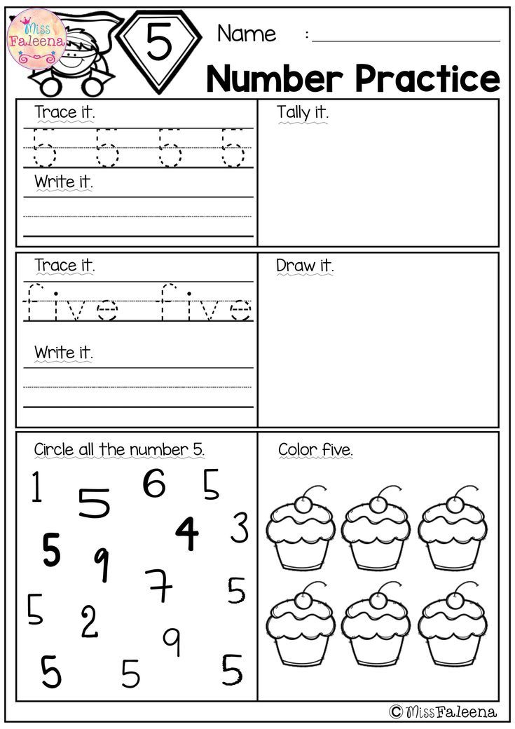 Free Number Practice These Pages Are Great For Pre K Kindergarten And First Grade Students It Will He Kindergarten Math Kindergarten Practice Education Math