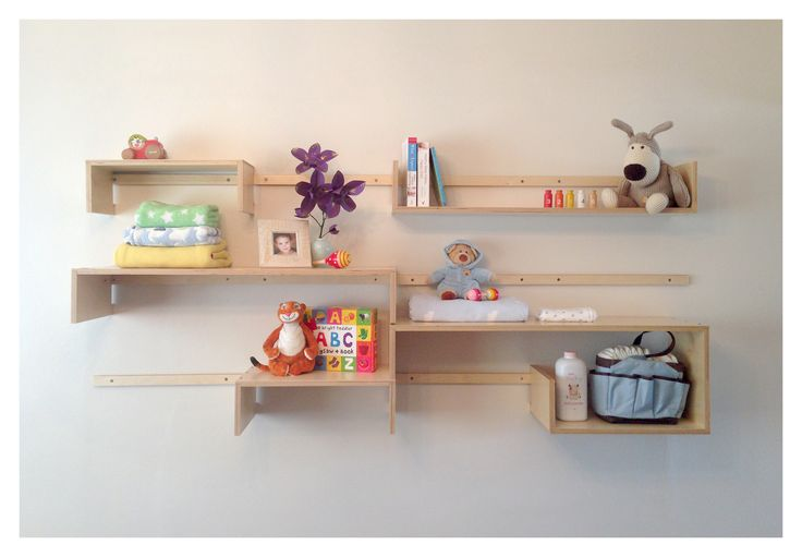 What a clever way of storing your childrens toys - #VSS2 Shelving System