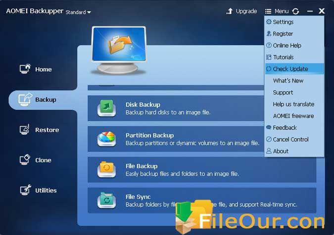 Aomei Backupper 2020 Free Download Full Version Freeware