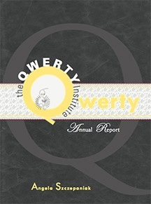 The QWERTY Institute by Angela Szczepaniak (BookThug Spring 2012)
