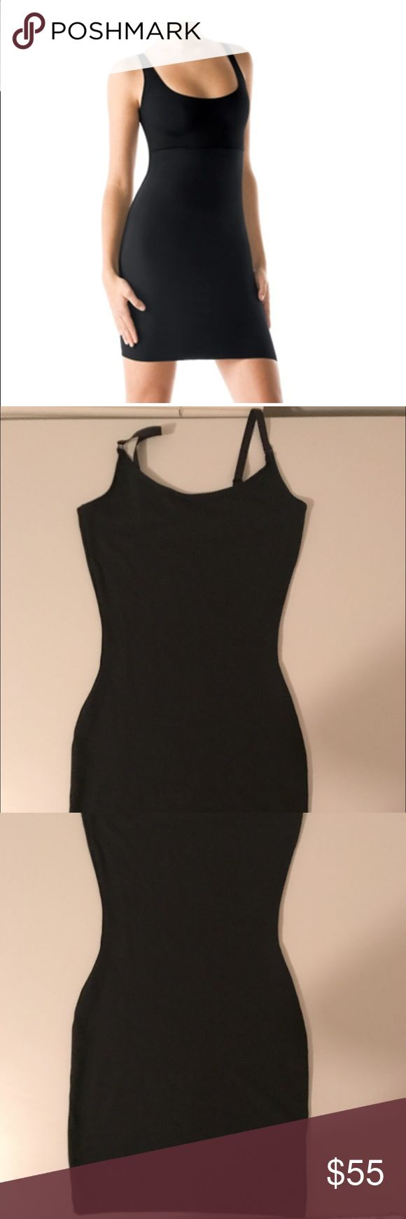Spanx slip- like new! Black Spanx slip size small. Only worn once for a couple hours for an event. SPANX Intimates & Sleepwear Shapewear
