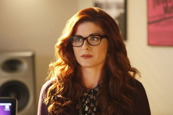 "Debra Messing... Love the glasses! :D ""Smash"" love this show, also."