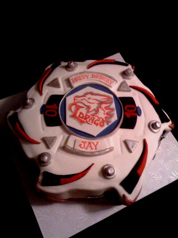 Beyblade Birthday Decorations | Beyblade - Cake Decorating Community - Cakes We Bake