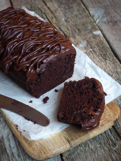 Sjokoladekake med banan
