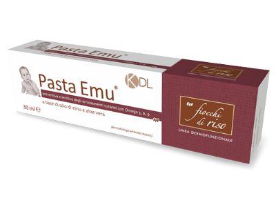 Un prodotto specifico per l'igiene quotidiana e per proteggerlo dalle fastidiosissime irritazioni da pannolino.  Come ogni prodotto Fiocchi di Riso, anche la Pasta Emu rispetta il patrimonio della crescita e sviluppo del bambino.