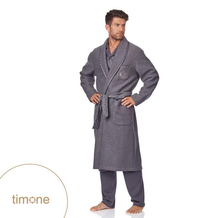 The best quality & fantastic looks - Timone bathrobes | shop here: http://goo.gl/fIkSZY