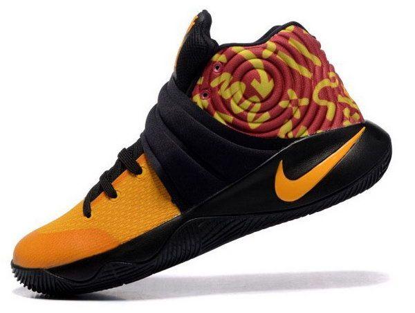 f7b570c6c930 Nike Kyrie 2 Yellow Black Closeout