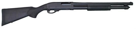 "Remington 870 Express Tactical 12GA, 18"", Black, 7rd Extended Tube $369.99"