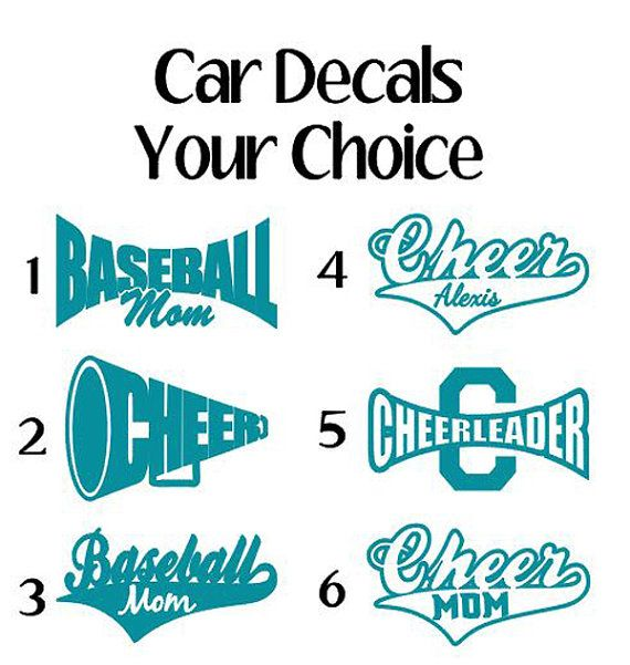 Best Decals Vinyle Images On Pinterest - Window clings for car sports